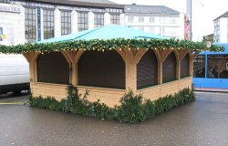 Weihnachtsmarkthütten