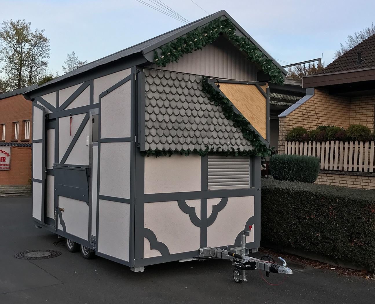1A Hütten – Verkaufsstände